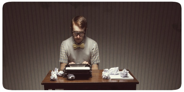 Escritor Experimentando - Fotografia por Joel Robison