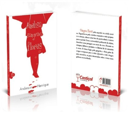 Livro Anelisa Sangrava Flores