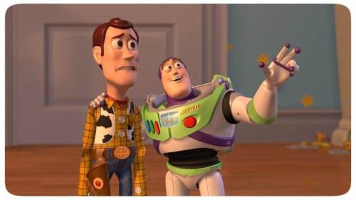 Toy Story - Woody - Buzz Lightyear