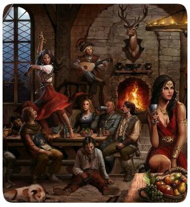 Taverna - Cultura - RPG - Heróis - Fantasia
