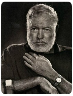 Escritor Ernest Hemingway