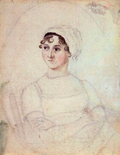 by Cassandra Austen, pencil and watercolour, circa 1810