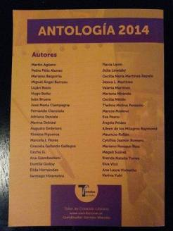 Contratapa - Antología 2014