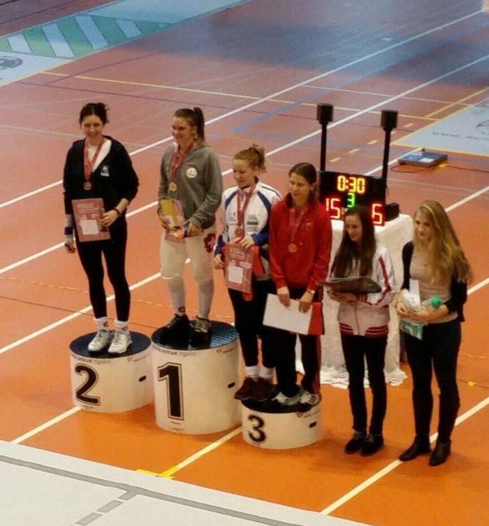 Demetra Solari, championne suisse junior 2015!!!