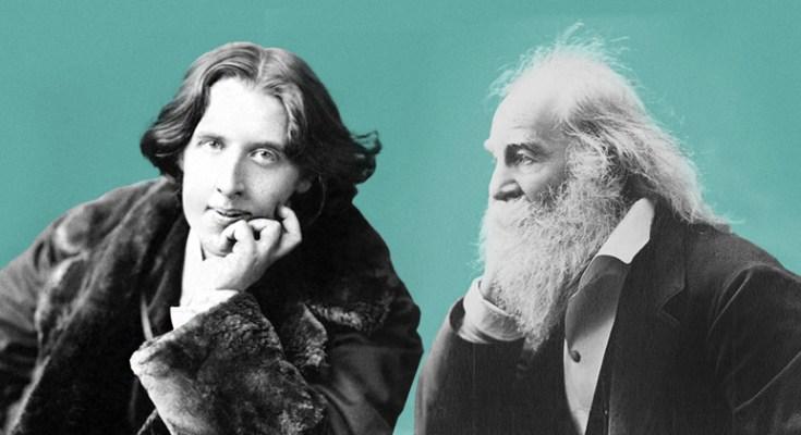 Oscar Wilde y Walt Whitman