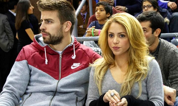 Piqué defiende a Shakira de una reportera