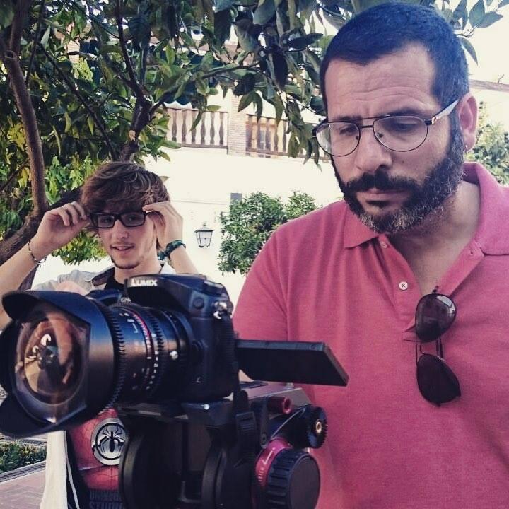 Rodaje de 'La Cita' Curso de Cine 4k 2015