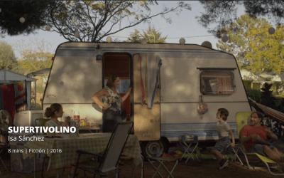 La actriz Sara Álvarez presenta su cortometraje 'Supertivolino' en el Ateneo