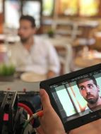 Cortometraje 33% Elena Kunitsyna Escuela Cine Malaga Actor Actriz Rodaje Cursos Casting Making Off Rodaje 1
