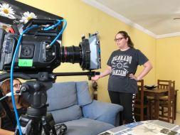 Cortometraje Heroína Alex Ortega Escuela Cine Malaga Actor Actriz Rodaje Cursos Casting Making Off Rodaje 6