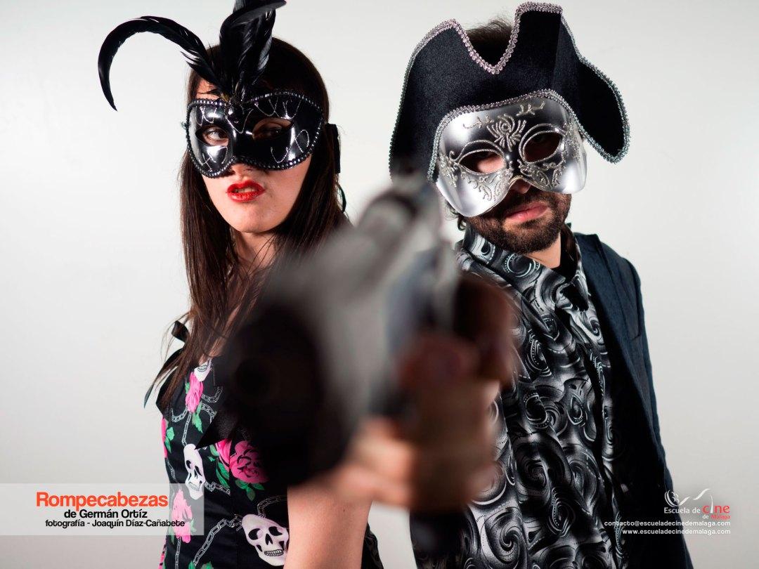 Cortometraje Rompecabezas de Germán Ortíz en la Escuela de Cine de Malaga