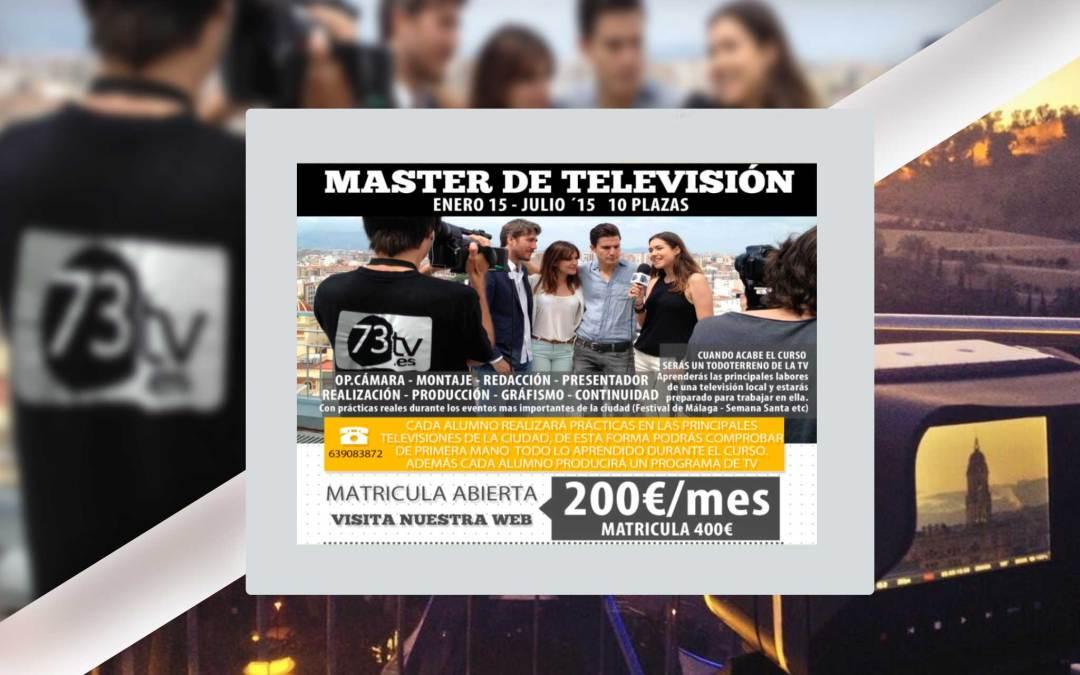 Master de Televisión en Málaga