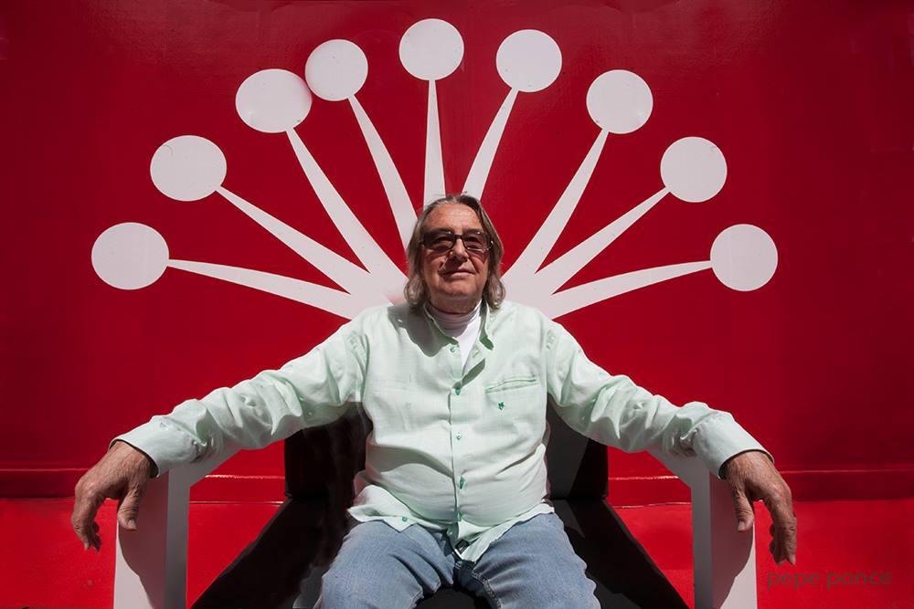 El actor malagueño Lucio Romero visita la Escuela