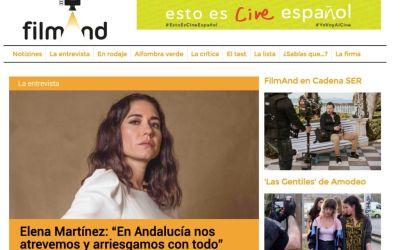 Filmand se hace eco de los proyectos de nuestra profesora Elena Martínez