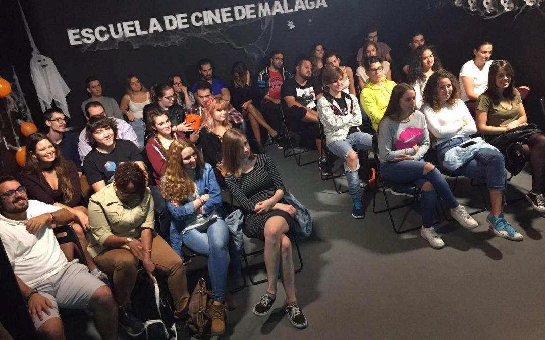 Terrorífico encuentro con el director Tony Morales en la Escuela de Cine de Málaga