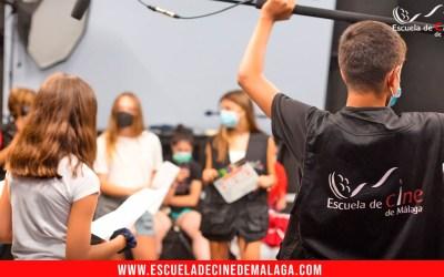 En rodaje «Siempre nos quedará el cine», la webserie de los estudiantes del Curso de Iniciación al Cine