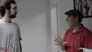 Escuela de Cine de Málaga Curso de Cine Cortometrajes Rodaje Mis amigos estan ciegos Carlos Bentabol13