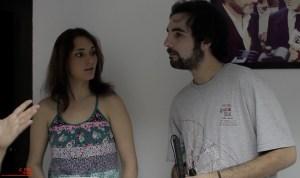 Escuela de Cine de Málaga Curso de Cine Cortometrajes Rodaje Mis amigos estan ciegos Carlos Bentabol16