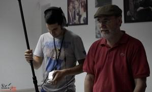 Escuela de Cine de Málaga Curso de Cine Cortometrajes Rodaje Mis amigos estan ciegos Carlos Bentabol18