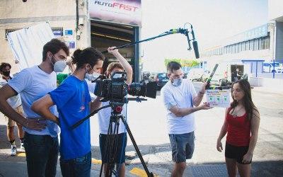 Rodaje del cortometraje «Futuro negro» proyecto final del Máster de Dirección Cinematográfica