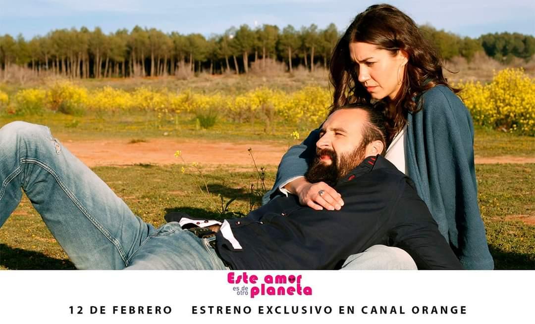 """Nuestra profesora, Elena Martínez, protagoniza """"Este amor es de otro planeta"""", que se estrena en Orange TV"""