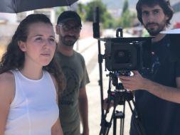 Makin off Rodaje Cortometraje La Montaña Maria Fortes Escuela Cine Malaga Actor Actriz Rodaje Cursos Casting 10