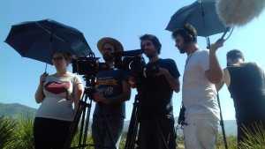Makin off Rodaje Cortometraje La Montaña Maria Fortes Escuela Cine Malaga Actor Actriz Rodaje Cursos Casting 13