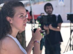 Makin off Rodaje Cortometraje La Montaña Maria Fortes Escuela Cine Malaga Actor Actriz Rodaje Cursos Casting 8