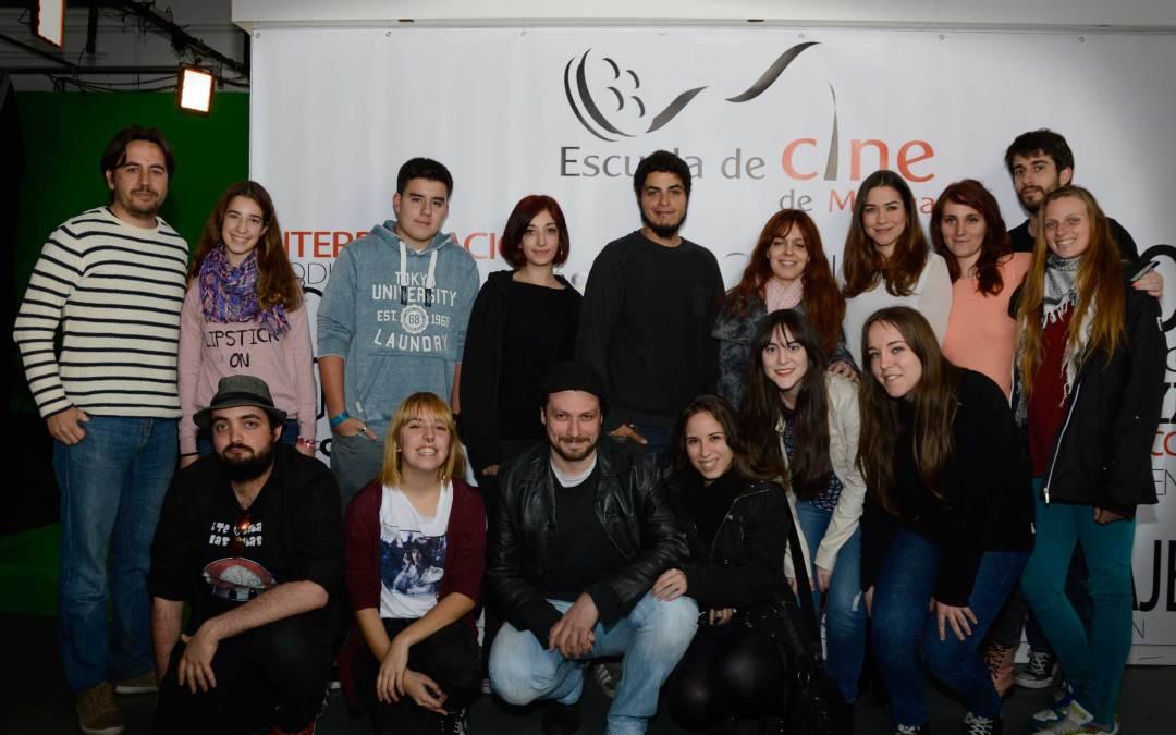David Sainz, creador de Malviviendo, visita la Escuela de Cine de Málaga