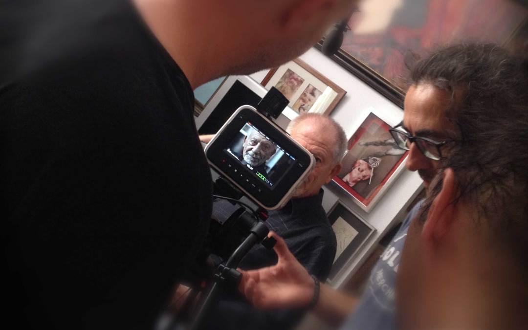 Alumnos de la Escuela participan en un documental producido por Antonio Hens