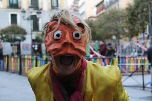 Media Máscara. Escuela de Teatro Arturo Bernal
