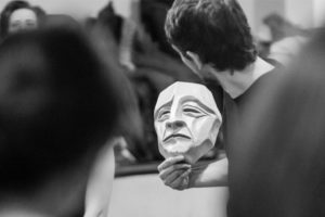 Expressive Mask. Theatre of Gesture. Mask Workshop