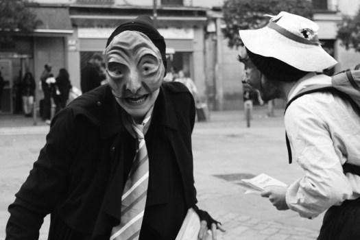 Comedia Humana. Media Máscara. Teatro Físico