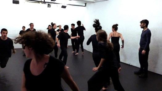 Escuela de Teatro en Madrid. Curso de Movimiento Escénico