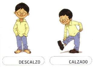 DESCALZO-CALZADO