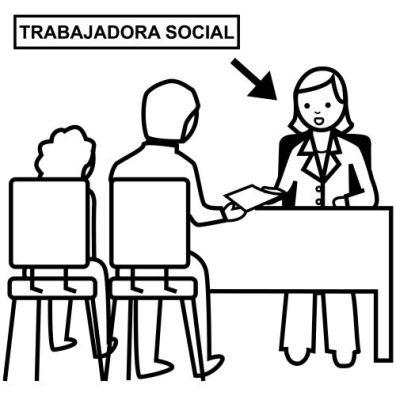 Trabajadora social
