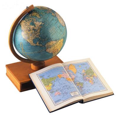 Globe and Atlas