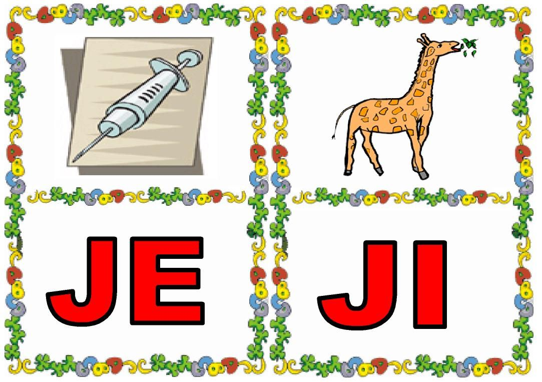 palabras con je colouring pages