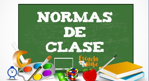 Normas De Clase Para Colorear