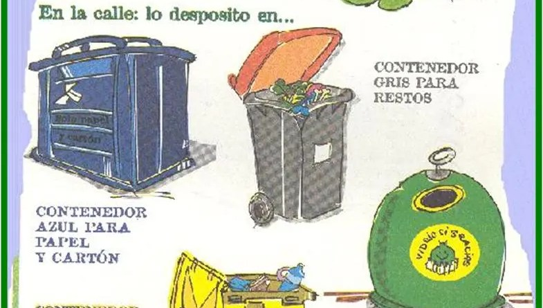 reciclar, medio ambiente, enseñar niños