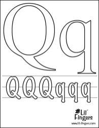 Dibujos para colorear: Letras del Abecedario