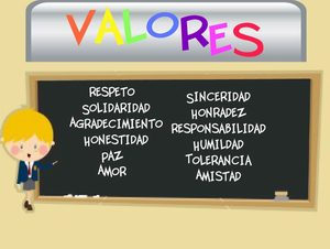 valores a los hijos