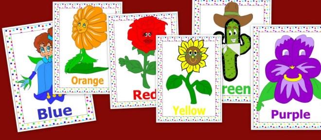 Colors, colores en inglés