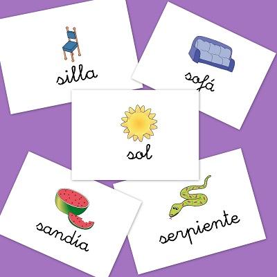 Bits de imágenes para aprender vocabulario