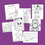 Dia del libro_Dibujos para colorear