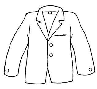 Dibujos de ropa para colorear