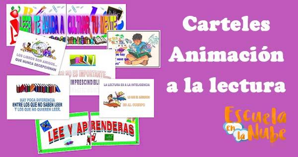 carteles animación a la lectura
