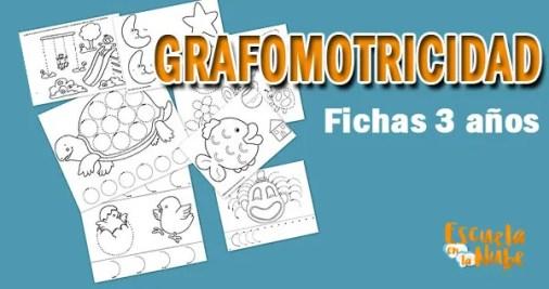 gramomotricidad 3 años