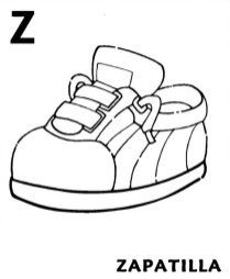 fichas abecedario colorear 29