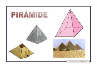 figuras geométricas piramide